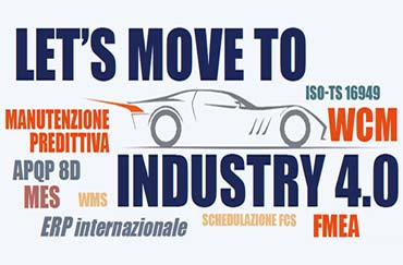 Evento - Let's move to Industry 4.0